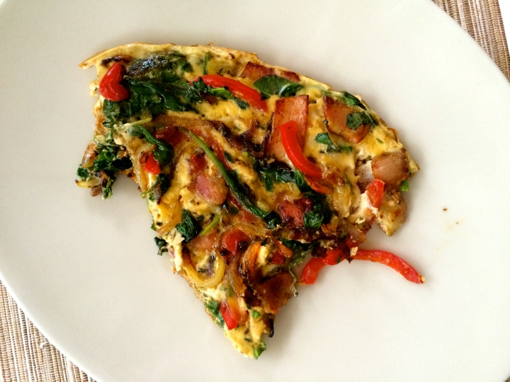 Herb-bacon-frittata