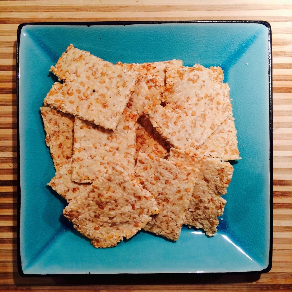 almond-sesame-crackers
